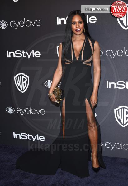 Laverne Cox - Beverly Hills - 08-01-2017 - Golden Globe 2017: lo spacco dispettoso di Emily Ratajkowsky