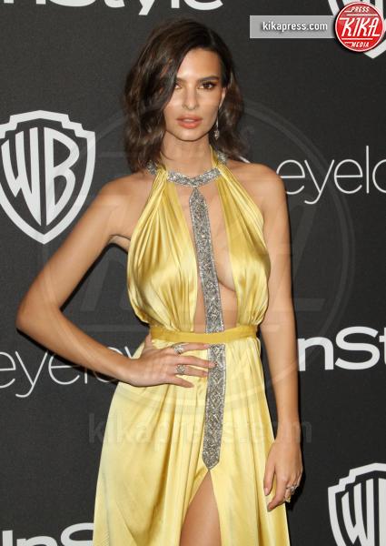 Emily Ratajkowski - Los Angeles - 09-01-2017 - Golden Globe 2017: lo spacco dispettoso di Emily Ratajkowsky
