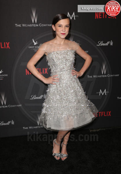 Millie Bobby Brown - Beverly Hills - 08-01-2017 - Golden Globe 2017: le foto del party Netflix