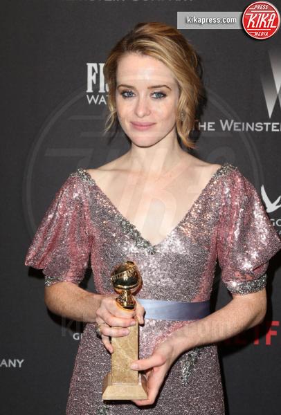 Claire Foy - Beverly Hills - 08-01-2017 - Golden Globe 2017: le foto del party Netflix