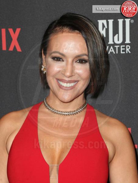 Alyssa Milano - Beverly Hills - 08-01-2017 - Golden Globe 2017: le foto del party Netflix