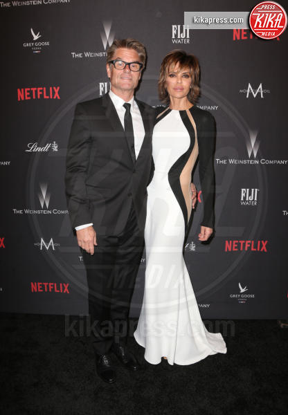 Harry Hamlin, Lisa Rinna - Beverly Hills - 08-01-2017 - Golden Globe 2017: le foto del party Netflix