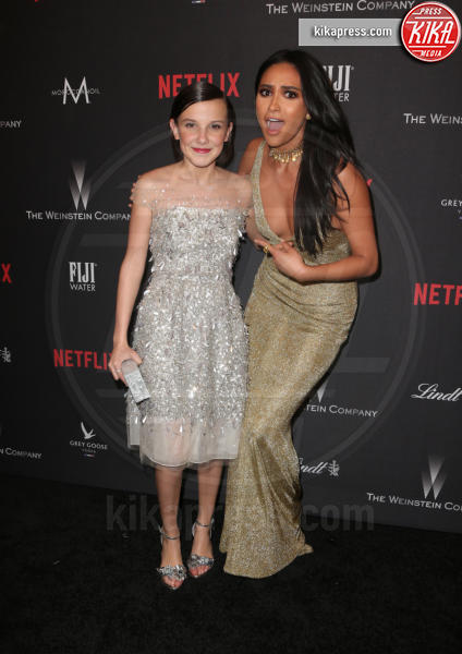 Millie Bobby Brown, Shay Mitchell - Beverly Hills - 08-01-2017 - Golden Globe 2017: le foto del party Netflix