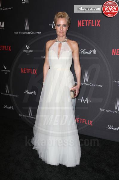 Gillian Anderson - Beverly Hills - 08-01-2017 - Golden Globe 2017: le foto del party Netflix