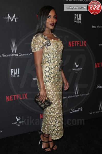 Kerry Washington - Beverly Hills - 08-01-2017 - Golden Globe 2017: le foto del party Netflix