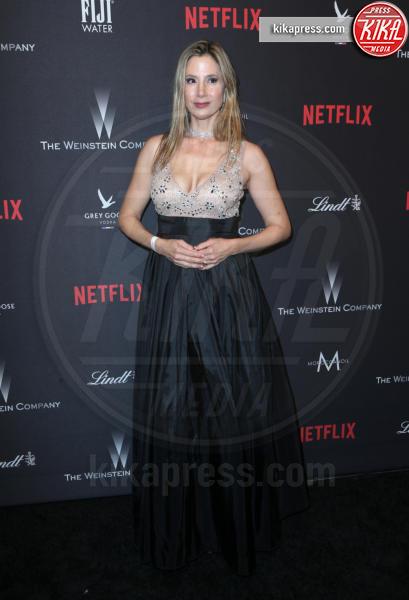 Mira Sorvino - Beverly Hills - 08-01-2017 - Golden Globe 2017: le foto del party Netflix