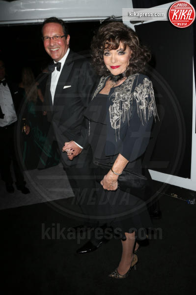 Percy Gibson, Joan Collins - Beverly Hills - 08-01-2017 - Golden Globe 2017: le foto del party Netflix