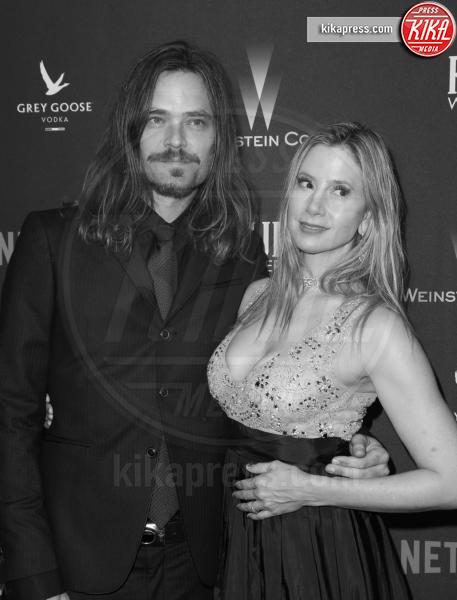 Christopher Backus, Mira Sorvino - Beverly Hills - 08-01-2017 - Golden Globe 2017: le foto del party Netflix