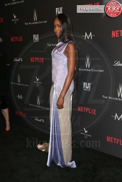 Naomi Campbell - Beverly Hills - 08-01-2017 - Golden Globe 2017: le foto del party Netflix