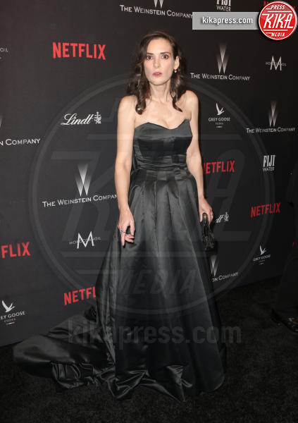 Winona Ryder - Beverly Hills - 08-01-2017 - Golden Globe 2017: le foto del party Netflix