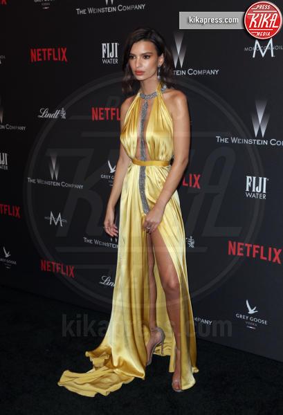 Emily Ratajkowski - Beverly Hills - 08-01-2017 - Golden Globe 2017: le foto del party Netflix
