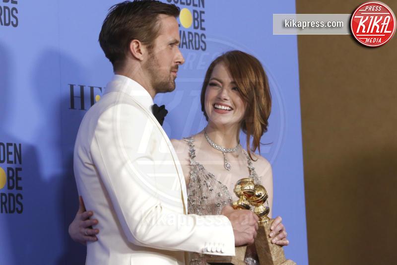 Emma Stone, Ryan Gosling - Los Angeles - 09-01-2017 - BAFTA Awards: La La Land fa incetta di nomination