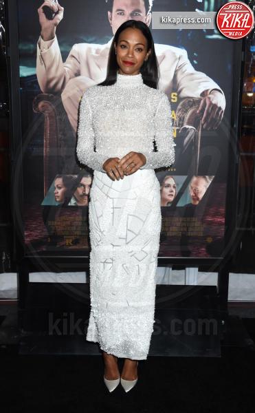 Zoe Saldana - Hollywood - 09-01-2017 - Sienna Miller-Elle Fanning-Zoe Saldana: che trio per Ben Affleck