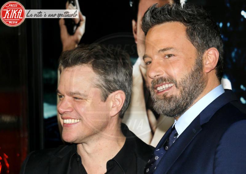 Matt Damon, Ben Affleck - Los Angeles - 09-01-2017 - Sienna Miller-Elle Fanning-Zoe Saldana: che trio per Ben Affleck