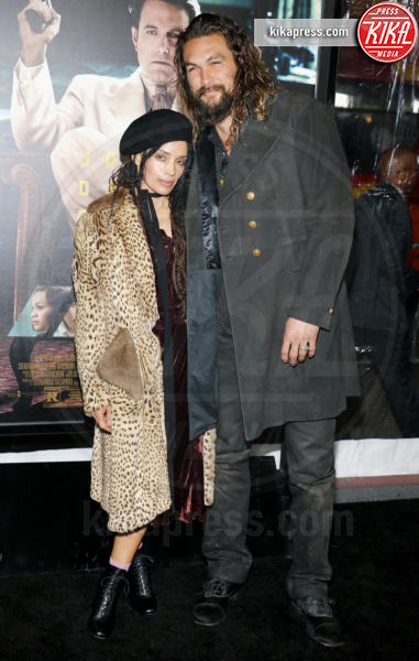 Jason Momoa, Lisa Bonet - Los Angeles - 09-01-2017 - Sienna Miller-Elle Fanning-Zoe Saldana: che trio per Ben Affleck