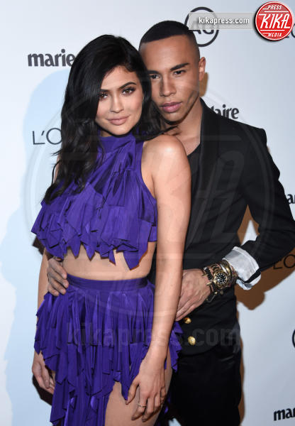 Olivier Rousteing, Kylie Jenner - West Hollywood - 10-01-2017 - Kylie Jenner: impossibile guardarla negli occhi sul red carpet!