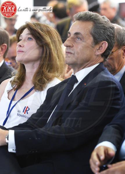 Nicolas Sarkozy, Carla Bruni - Parigi - 30-05-2015 - Non solo Emma Watson e Dan Stevens: le Belle e le Bestie vip!