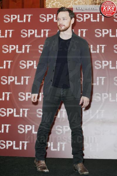 James McAvoy - Milano - 11-01-2017 - Arriva a Milano Split, il capolavoro di M. Night Shyamalan