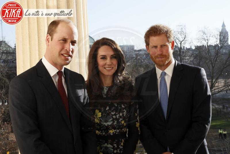 Principe William, Kate Middleton, Principe Harry - Londra - 17-01-2017 -