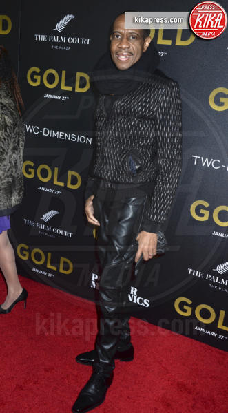 Freddie Jackson - New York - 17-01-2017 - Matthew McConaughey e Camila, coppia d'oro alla première di Gold