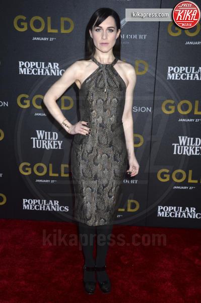 Lena Hall - New York - 17-01-2017 - Matthew McConaughey e Camila, coppia d'oro alla première di Gold