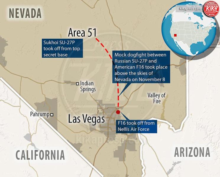 area 51 - Los Angeles - 18-01-2017 - Guerra Russia-Stati Uniti sopra i cieli dell'Area 51