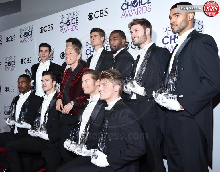Ellen DeGeneres - Los Angeles - 18-01-2017 - People's Choice: notte dorata per Sarah Jessica Parker