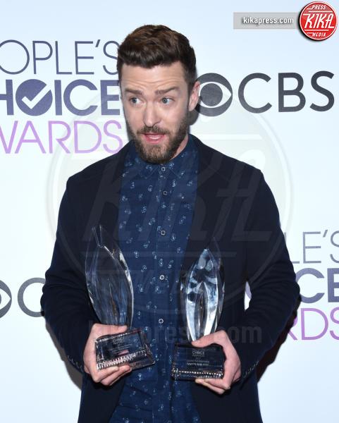 Justin Timberlake - Los Angeles - 18-01-2017 - People's Choice: notte dorata per Sarah Jessica Parker