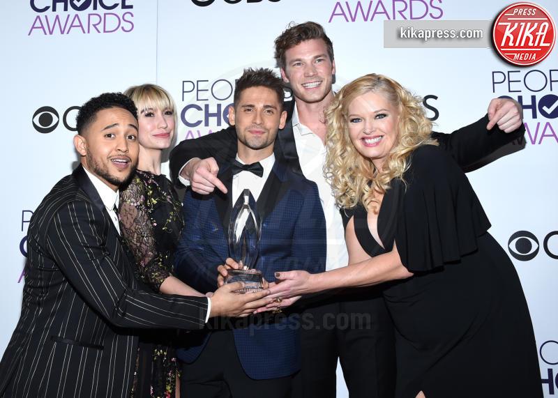 Derek Theler, Tahj Mowry, Chelsea Kane, Melissa Peterman - Los Angeles - 18-01-2017 - People's Choice: notte dorata per Sarah Jessica Parker