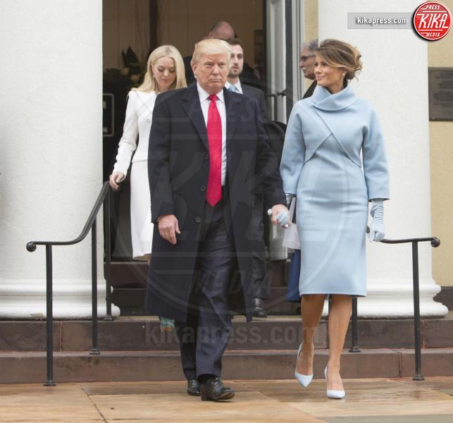 Trump Presidential Inauguration 2017, Melania Trump, Donald Trump - Washington - 20-01-2017 - Melania Trump è rimasta di cera... e l'abito non è casuale!
