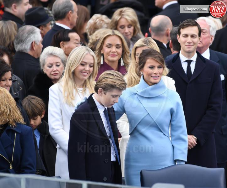 Trump Presidential Inauguration 2017, Barron Trump, Melania Trump, Tiffany Trump, Ivanka Trump - Washington - 20-01-2017 - Donald Trump è il 45esimo presidente degli Stati Uniti