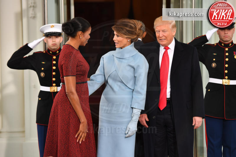 Trump Presidential Inauguration 2017, Melania Trump, Michelle Obama, Donald Trump - Washington - 20-01-2017 - Donald Trump è il 45esimo presidente degli Stati Uniti