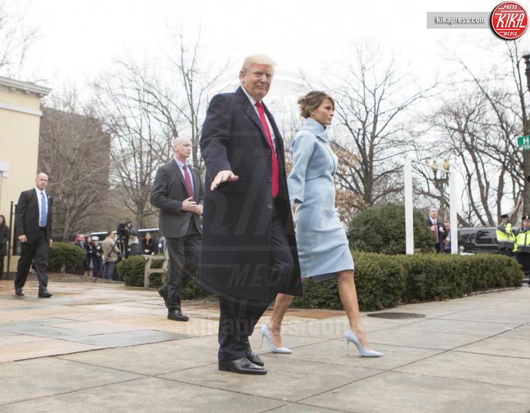 Trump Presidential Inauguration 2017, Melania Trump, Donald Trump - Washington - 20-01-2017 - Donald Trump è il 45esimo presidente degli Stati Uniti