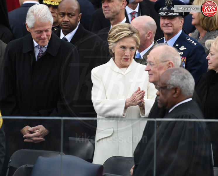 Trump Presidential Inauguration 2017, Hillary Clinton, Bill Clinton - Washington - 20-01-2017 - Donald Trump è il 45esimo presidente degli Stati Uniti