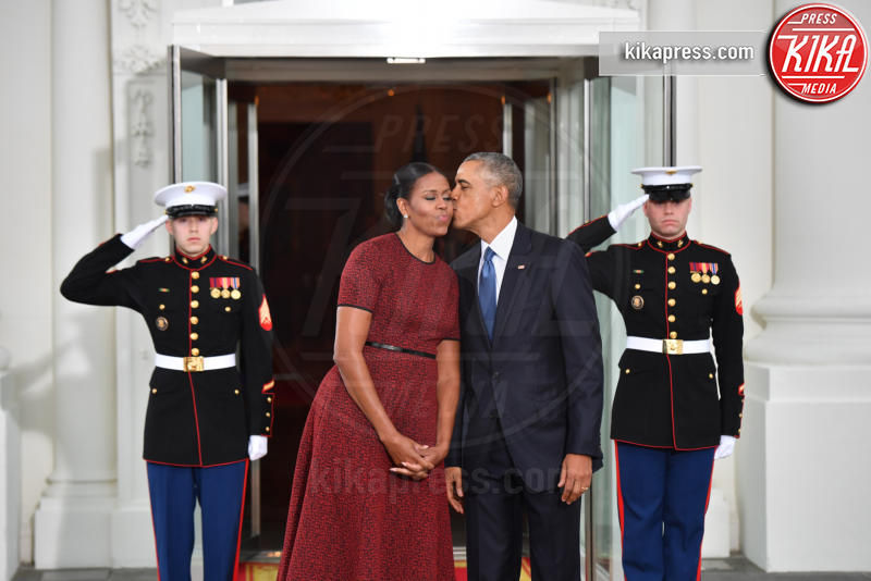 Trump Presidential Inauguration 2017, Michelle Obama, Barack Obama - Washington - 20-01-2017 - Donald Trump è il 45esimo presidente degli Stati Uniti