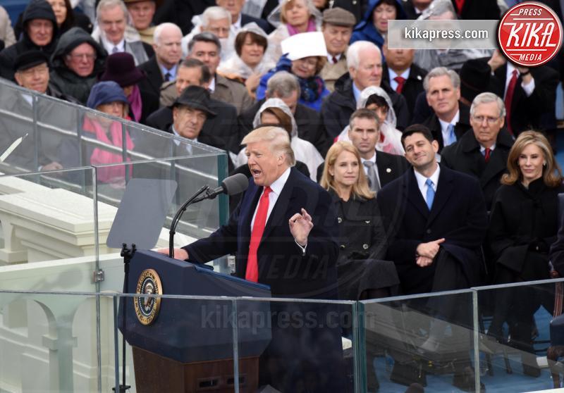 U.S. President Donald Trump - Washington - 20-01-2017 - Donald Trump è il 45esimo presidente degli Stati Uniti