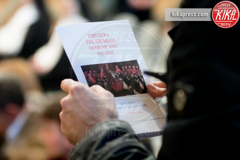 Messa per i domenicani - Città del Vaticano - 21-01-2017 - Papa Francesco presiede la messa per i Domenicani