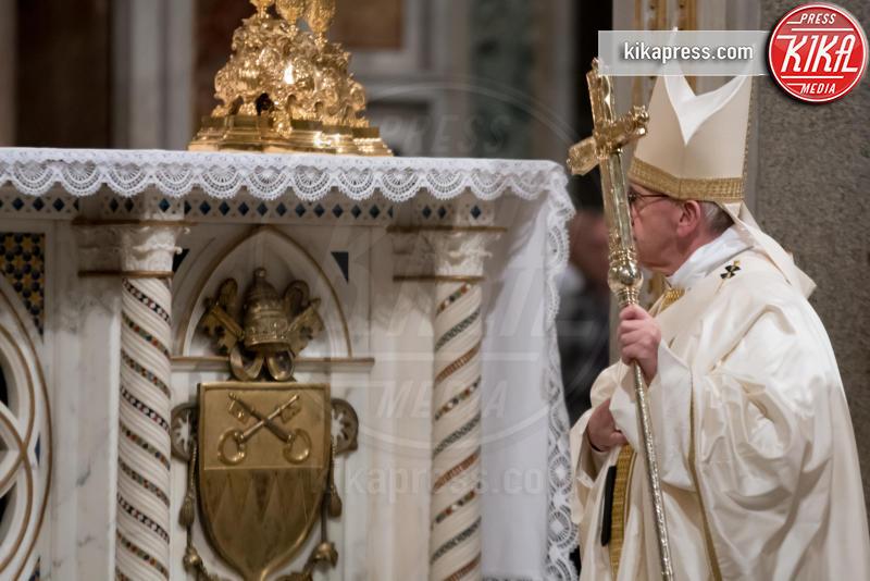 Messa per i domenicani, Papa Francesco - Città del Vaticano - 21-01-2017 - Papa Francesco presiede la messa per i Domenicani