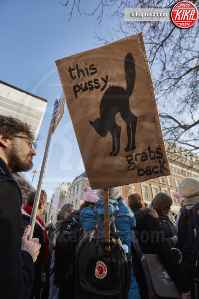 Women's March Londra, Atmosphere - Londra - 21-01-2017 - Women's March: non solo Stati Uniti, dilaga anche in Europa!