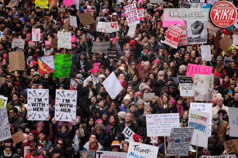 Atmosphere - Women's March New York - Manhattan - 22-01-2017 - Women's March: la folla sfila per Manhattan