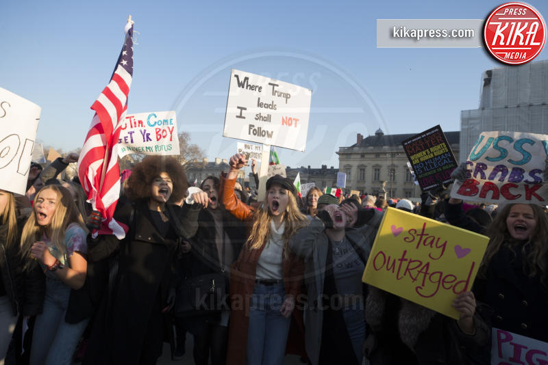 Women's March Parigi - Parigi - 21-01-2017 - Women's March: non solo Stati Uniti, dilaga anche in Europa!