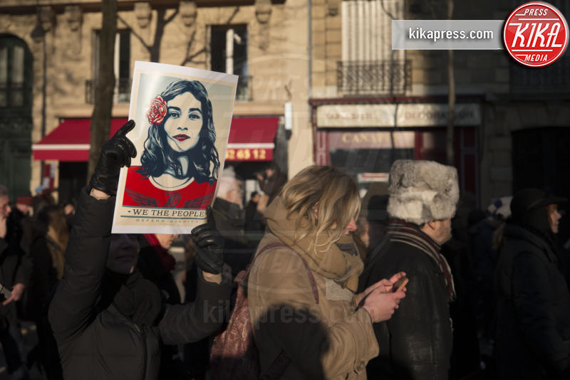 Women's March Parigi - 21-01-2017 - Women's March: non solo Stati Uniti, dilaga anche in Europa!