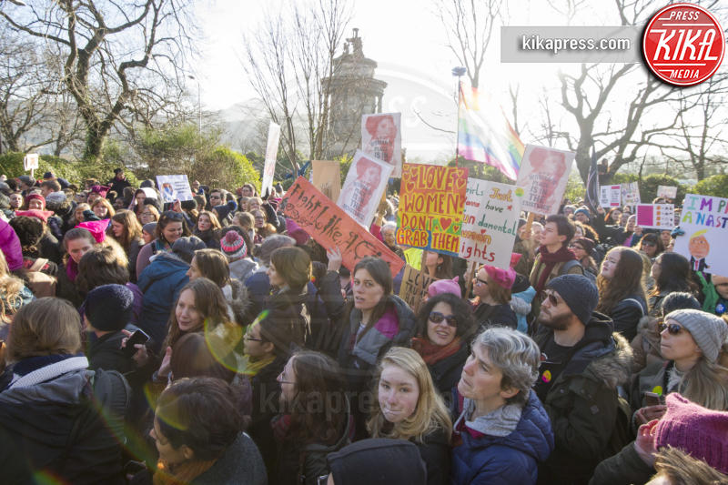 Women's March Edimburgo, Protesters - Edimburgo - 21-01-2017 - Women's March: non solo Stati Uniti, dilaga anche in Europa!