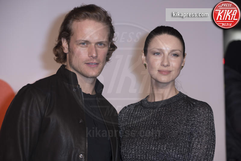 Caitriona Balfe, Sam Heughan - Edimburgo - 22-01-2017 - Ewan McGregor gioca in casa alla premiere UK di Trainspotting 2!