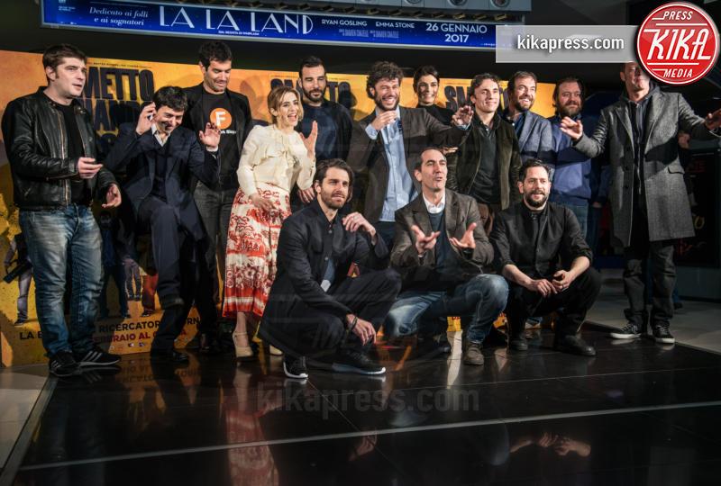 Cast al completo - Roma - 24-01-2017 - Valeria Solarino torna nella banda di Smetto quando voglio