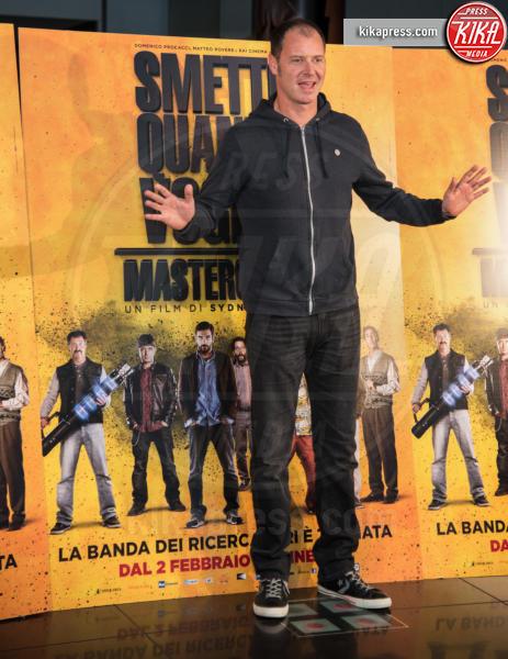 Pietro Sermonti - Roma - 24-01-2017 - Valeria Solarino torna nella banda di Smetto quando voglio