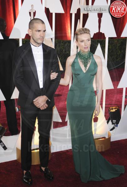Romain Dauriac, Scarlett Johansson - Los Angeles - 22-02-2015 - Scarlett Johansson e Romain Dauriac hanno divorziato