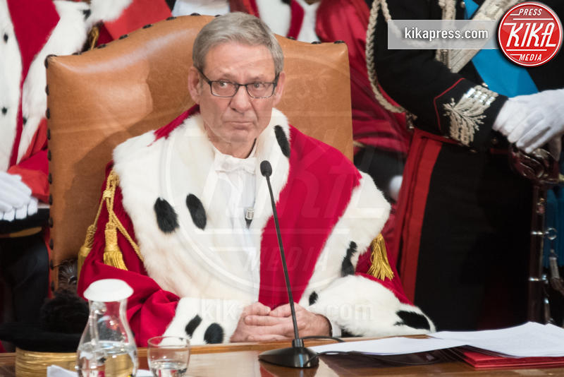 Apertura anno giudiziario, Giovanni Canzio - Roma - 26-01-2017 - Il presidente Mattarella all'apertura dell'anno giudiziario