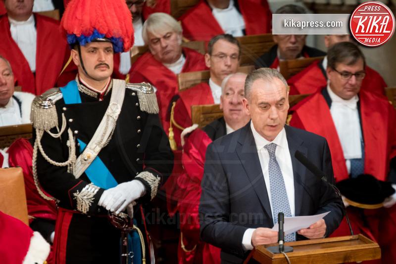 Apertura anno giudiziario, Giovanni Legnini - Roma - 26-01-2017 - Il presidente Mattarella all'apertura dell'anno giudiziario