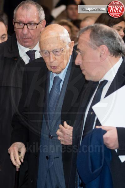 Apertura anno giudiziario, Giorgio Napolitano - Roma - 26-01-2017 - Il presidente Mattarella all'apertura dell'anno giudiziario